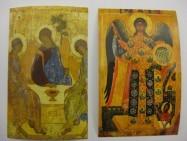 Kleepsud - Püha Kolmainsus ja ingel Miikael - (5 x 8cm)