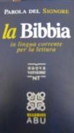La Bibbia in lingua corrente per la lettura (Itaalia)
